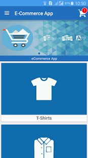E-Commerce App- screenshot thumbnail Ecommerce App, Admin Panel, Banner, Libraries, Filter, Cart, Management, Delivery, Animation