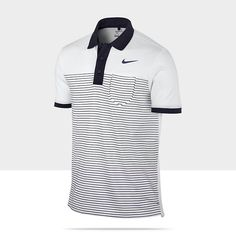 Nike Sport Stripe Pocket Mens Golf Polo