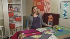 Free Craftsy Mini-Class: Creative Quilt Backs.