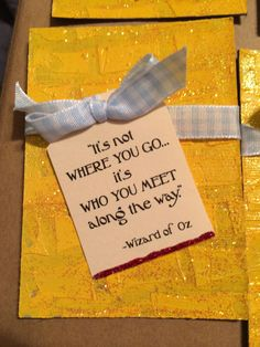 Discover and share Wizard Of Oz Famous Quotes. Explore our collection of motivational and famous quotes by authors you know and love. Wizard Of Oz Decor, Wizard Of Oz Quotes, Wizard Oz, Wizard Of Oz Wreath, Land Of Oz, Yellow Brick Road, Retirement Parties, Girls Camp, Party Signs