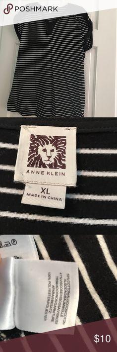 Anne Klein SS tunic Cap sleeved Anne Klein Tops Tunics