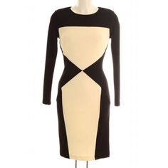 Monochrome Colourblock Dress available at http://mimi.co.ke/534/127/new-arrivals/P-monochrome-colourblock-dress.html