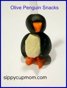 Olive Penguin Snacks