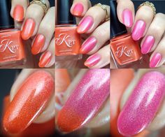 Do You Wanna Fanta swatch by @constantlypolished