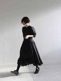 (Comme des Garcons)sheer princess dress