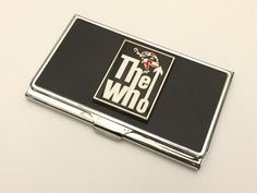 The Who Business Card Case, Music Business Card Case, The Who, Father's Day, Graduation Gift by BrooklynYards on Etsy