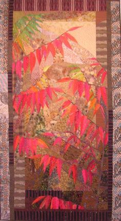 Sumac Quilt - another beautiful piece of art by Ruth B. McDowell