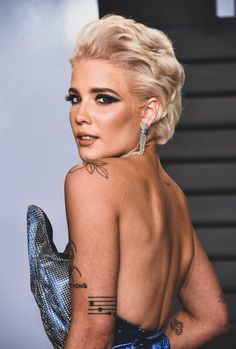 Halsey - 2018 Vanity Fair Oscar Party.