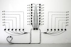 Alberto Tadiello sculpture - be interesting to have a clock in this DIY form