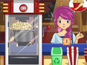 Free Online Girl Games, You are working behind the popcorn counter at a very popular theater, but unfortunately there is no one to help you!  Prepare the popcorn ahead of time and then serve the customers as they arrive!  Make sure you get the order right and that you do it quickly or your customers will leave in anger!, #time management #waitress #restaurant