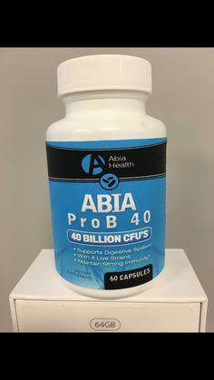 Most powerful probiotic on the market!! 40billion cfu! Losenow.abiahealth.com