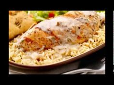 Italian Chicken and Rice Casserole