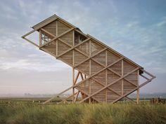 Espacios en madera: estructuras