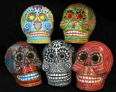 Day of the Dead Mexico | Mexican masks for Day of the dead!