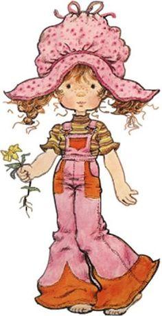 sarah kay - Page 6 Sarah Key, Holly Hobbie, Creative Pictures, Cute Pictures, Sarah Kay Imagenes, Vintage Girls, Vintage Art, Illustrations, Illustration Art