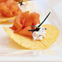Smoked Salmon Tartar on Hand-cut Chips