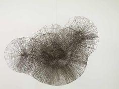 Flare II by Antony Gormly, stainless steel wire. Antony Gormley, Abstract Sculpture, Sculpture Art, Wire Sculptures, Bronze Sculpture, Modern Art, Contemporary Art, Art Abstrait, Hemnes
