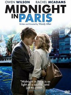 'Midnight In Paris' is the film written and directed by Woody Allen. Owen Wilson stars as Gil Pender, an American screenwriter who has taken his fiancée (Rachel McAdams) to Paris. Hd Movies, Movies And Tv Shows, Movie Tv, Hero Movie, Midnight In Paris, Paris Movie, Baby Hamster, Owen Wilson, Movie Covers