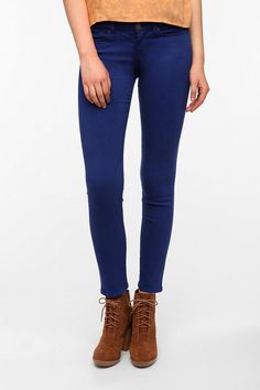 BDG Cigarette High-Rise Jean - Ocean Blue Available in Two Lengths!