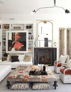 Living room interior photography by Max Kim-Bee...
