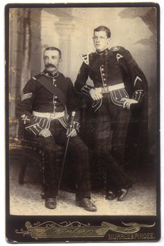 Soldiers of the Queen - Sergeant & Bandsman - The King's Own Scottish Borderers