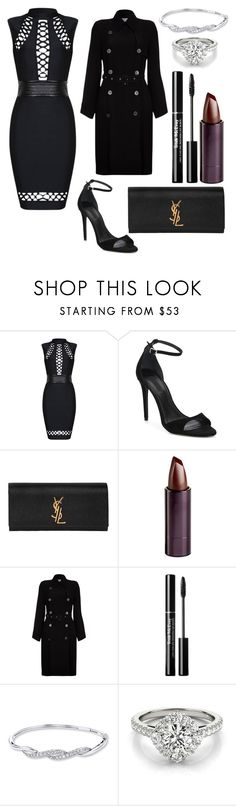 """""""Untitled #98"""" by itsmexo ❤ liked on Polyvore featuring Alexander Wang, Yves Saint Laurent, Serge Lutens Beauté and Ghost"""
