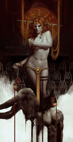 INANNA / Bastien Lecouffe Deharme A personal interpretation of Inanna, the summerian goddess who came back from the underworld.