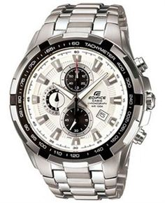 adad71ae103 Casio Edifice Men s Analogue Quartz Watch with Solid Stainless Steel  Bracelet –