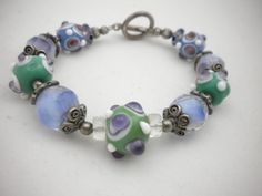 Lilac and greens of Spring by Judy Mitchels on Etsy