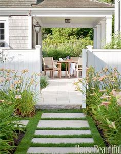 I want that look of the patio stones with grass growth in between for my patio.