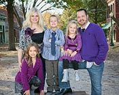 Family photo shoot styling