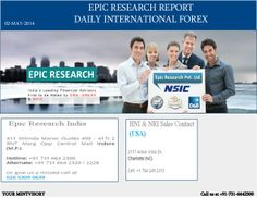 Epic Research provides ultimate FOREX signals for their clients to produce amazingly accurate results. Our research team prepare such I-FOREX Signals live charts and track-sheets of the past performance consulting which traders can generate maximum profit from the market place.This report helps you to achieve desired success in the SGX Stock  Exchange.