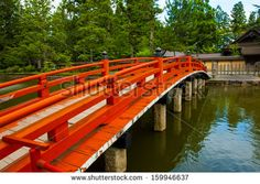 red gardens in japan beautiful traditional red bridge in japanese garden japan - Red Japanese Garden Bridge