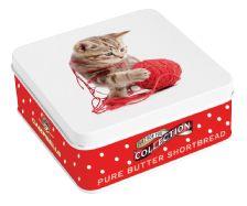 Campbells shortbread fingers in kitten tin - VAT FREE - 1 x 90g