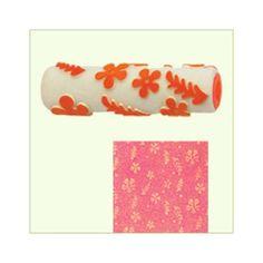 Designer Paint Roller - Floral Effect #onlineshoppinghttp://goo.gl/sG912L