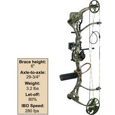 I want this! $499.99 Bear® Archery Home Wrecker Bow Package