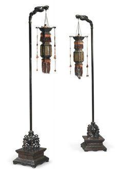 Old Lanterns, Chinese Lanterns, Chinese Furniture, Romantic Night, Asian Decor, Asian Style, Chinese Art, Chinoiserie, Handmade Art