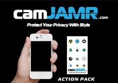 Cover your webcam today with our top selling camJAMR webcam cover.