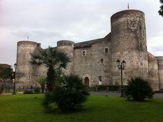 Castello Ursino in Catania, Sicilia