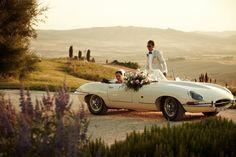 Garden Wedding, Dream Wedding, Wedding Cars, Wedding Transportation, Destination Wedding Inspiration, Destination Weddings, Tuscan Wedding, Romantic Weddings, Italian Weddings