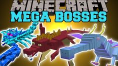 Minecraft: MEGA BOSSES (YOU WILL NOT SURVIVE!) Mod Showcase Lego Boards, Minecraft Mods, Mini Games, Animal Party, Mythical Creatures, Diy And Crafts, Pokemon, Boss, Survival