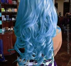 blue hair - Hairstyles and Beauty Tips