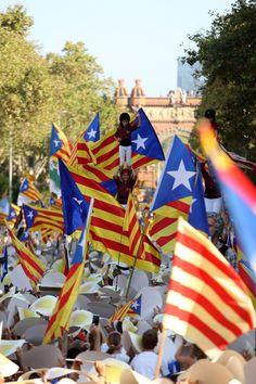 | Diada 2016 a Barcelona. Zona Plaça Tetuan. Barcelona. Catalonia Fotos: Joan Carles Orengo