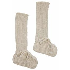 Long Cotton Booties