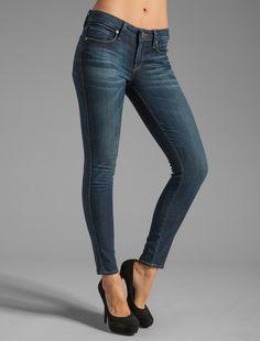 Genetic Denim- skinny dark jeans