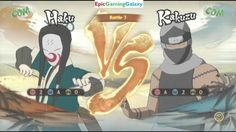 Naruto Shippuden Ultimate Ninja Storm 4 Matches / Battles / Fights Of Kakuzu Part #3