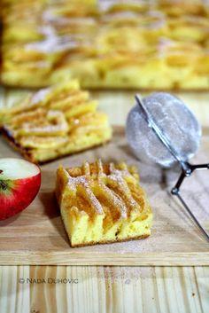 PROBANO - TRIED: EXCELLENT - ODLIČNO Just good food: Sočni tart od jabuka s cimetom i medom