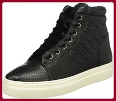 JOOP! Damen Daphne High Sneaker I Soft Leather, Schwarz (900), 39 EU - Sneakers für frauen (*Partner-Link)
