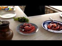 Χταπόδι λεμονάτο και ταχινόσουπα Όψον & Ψαλμός, ΕΡΤ2 - YouTube Panna Cotta, Food And Drink, Ethnic Recipes, Youtube, Dulce De Leche, Youtubers, Youtube Movies