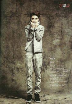 Men's Style magazine #EXO #D.O.